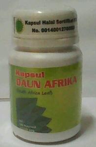 kapsul daun afrika murni asli